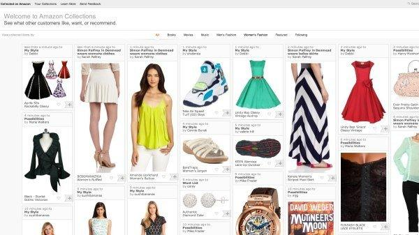 Amazon: una shopping experience da collezione