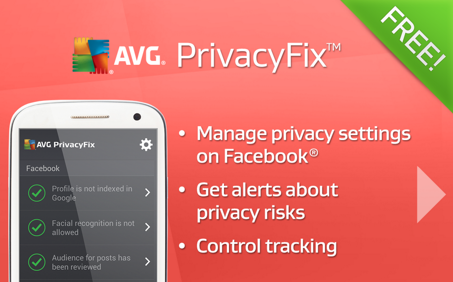 App of the Week: AVG PrivacyFix, la tua privacy online è al sicuro!