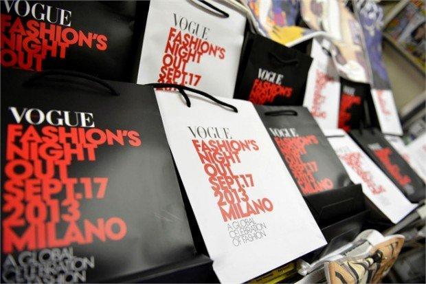 Vogue Fashion Night Out a Milano, ecco il Ninja-Report!