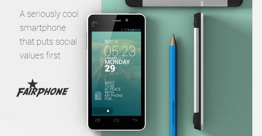 Fairphone: il primo smartphone android equo e solidale