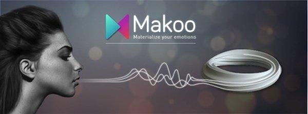 Makoo, l'ecommerce di gioielli realizzati con la stampa 3D