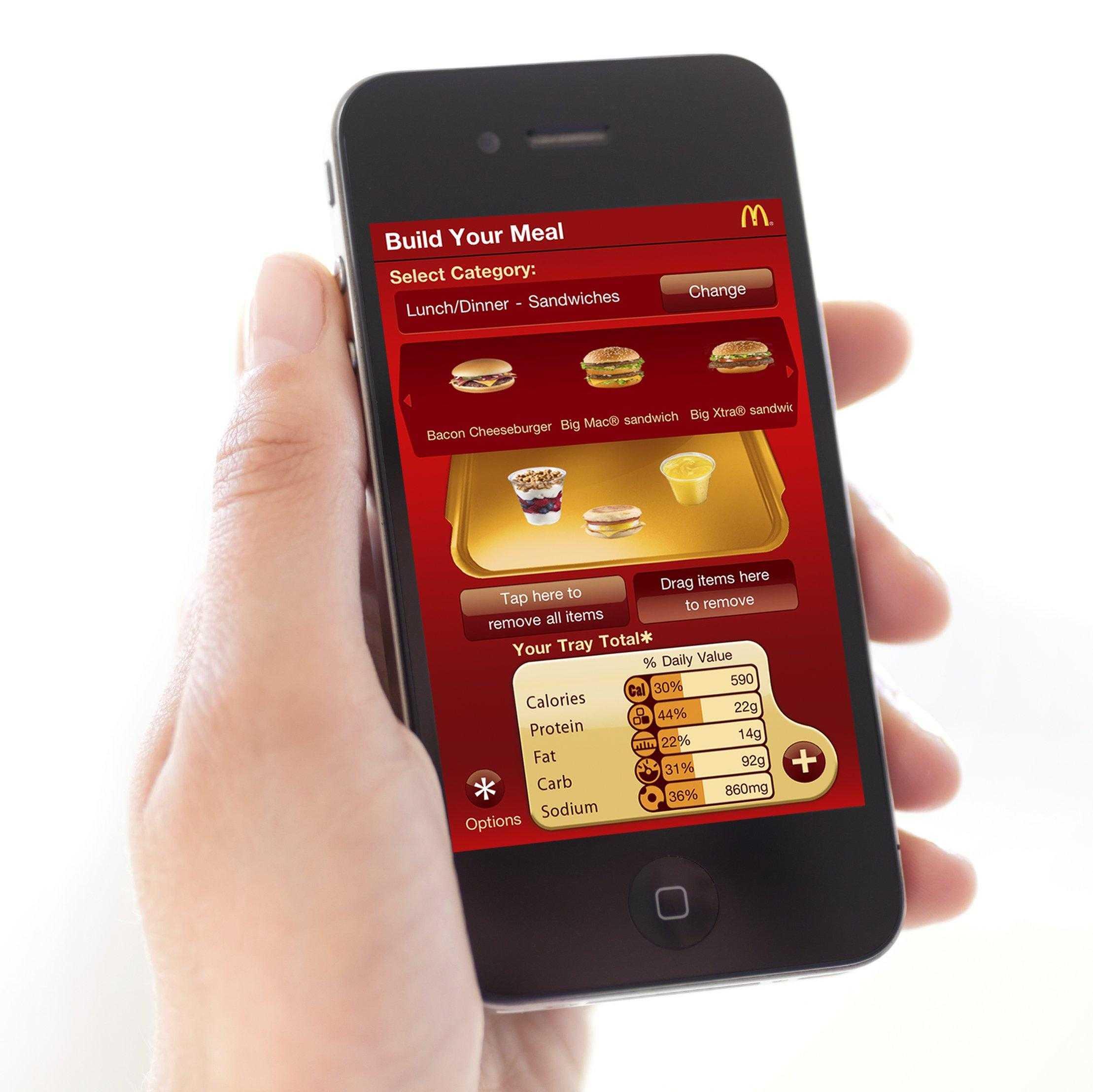 McDonald's sperimenta l'ordinazione e l'acquisto via app