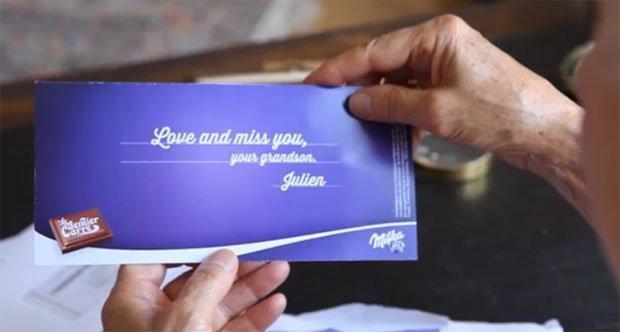 Milka sfida i golosi con l'ultimo pezzo di cioccolato