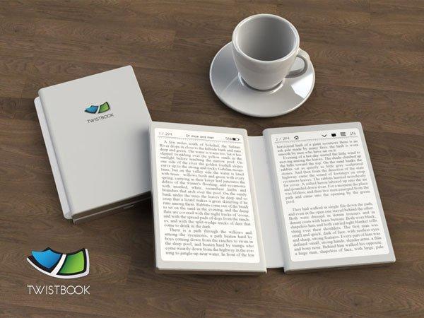 Scopriamo TwistBook, l'E-Reader che sembra un libro