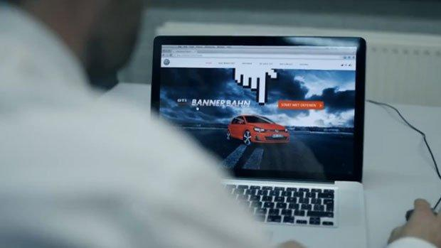 Volkswagen trasforma i banner in un advergame [VIDEO]