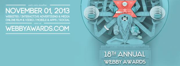 18esimi Webby Awards: iscrizioni aperte in early booking fino al 1 novembre