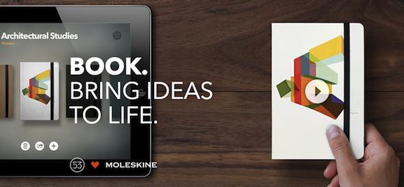 Paper e Moleskine trasformano i tuoi appunti su iPad in un libro