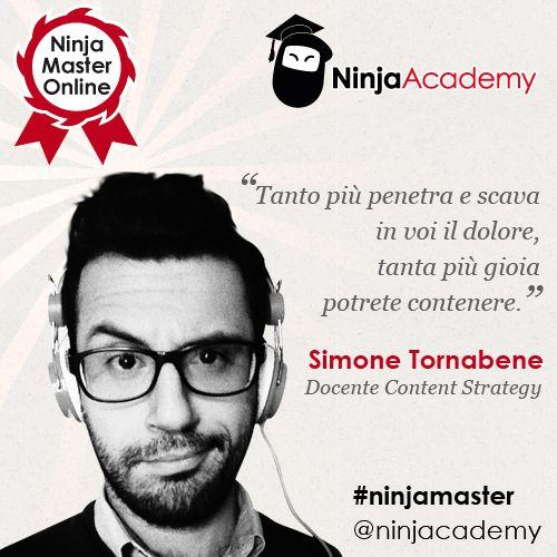 Content Marketing: la parola a Simone Tornabene, docente del Ninja Master Online