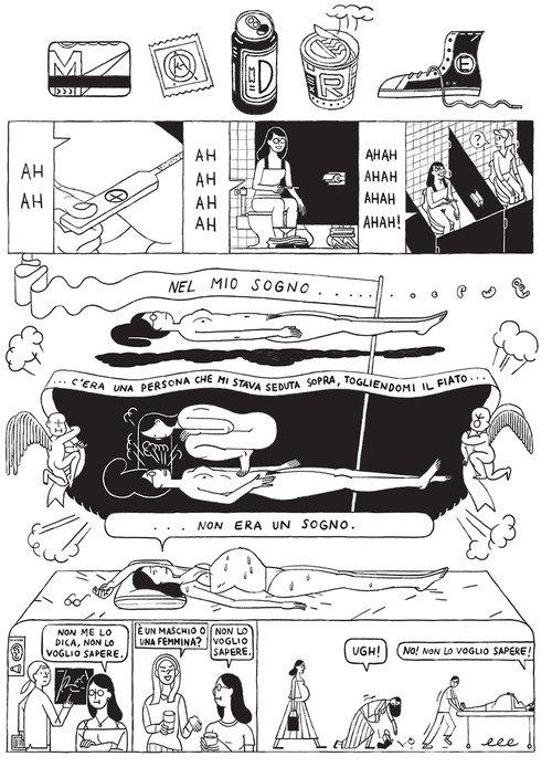 Top 10 fumetti e illustrazioni migliori creativi della settimana Sophia Forster Dimino Mother Delebile