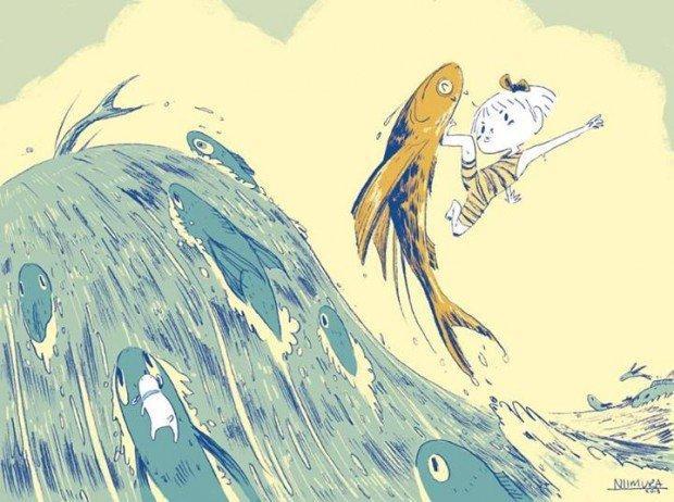 Top 10 fumetti e illustrazioni: i migliori creativi della settimana Ken Niimura