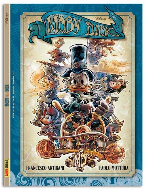Top 10 fumetti e illustrazioni: i migliori creativi della settimana Moby Dick Disney Panini