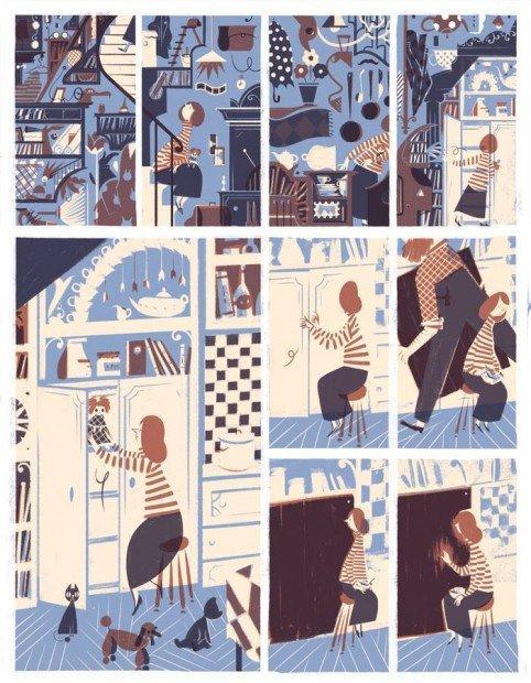 Top 10 fumetti e illustrazioni: i migliori creativi della settimana Roman Muradov