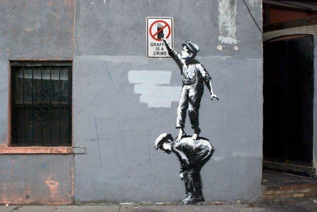 Better Out Than In: Banksy invade New York