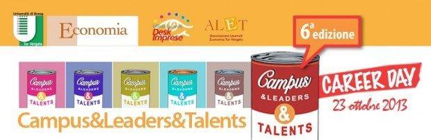 Campus&Leaders&Talents, la sesta edizione il 23 ottobre 2013