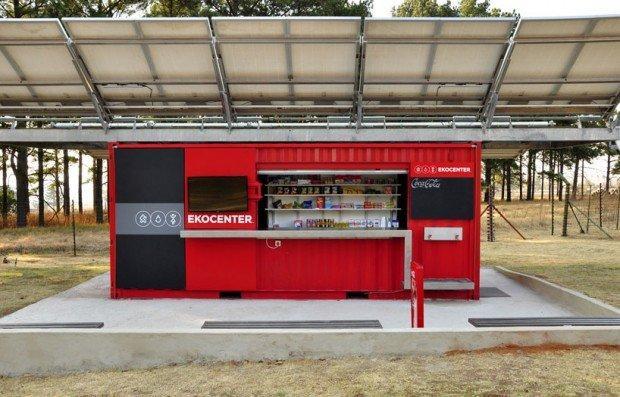 I Coca Cola Ekocenter portano l'acqua potabile nelle zone a rischio