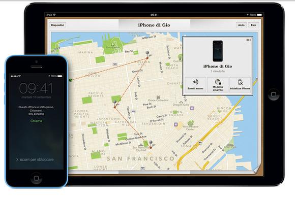 Come usare Trova il mio iPhone: le novità con iOS 7