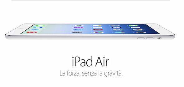 Evento Apple: iPad Air, nuovo iPad mini e Mavericks gratuito!