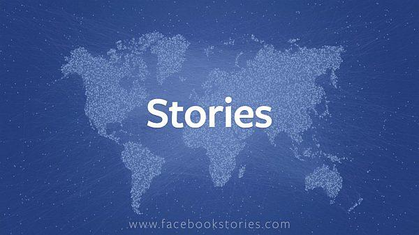 Facebook Stories: racconti straordinari nell'era dei social network