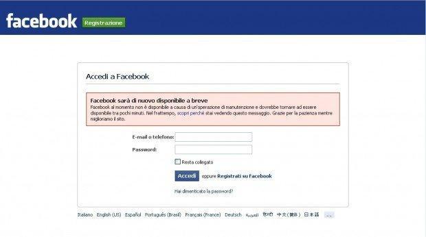 #Facebookdown è finito. Il mondo è stato costretto a parlarsi di persona per alcune ore