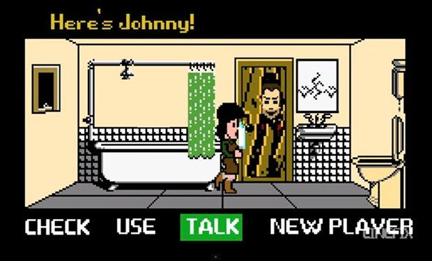 Shining: il film diventa un videogame in 8 bit [VIDEO]