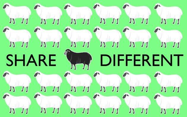 Perché condividiamo sui social media? Omologazione batte originalità