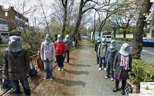 """Google Street View: ecco le 20 immagini più """"spaventose"""""""