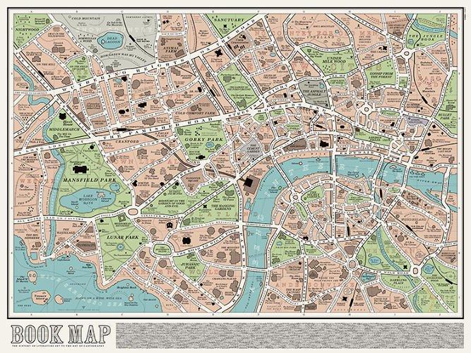 La mappa di Londra per gli amanti dei libri [INFOGRAFICA]