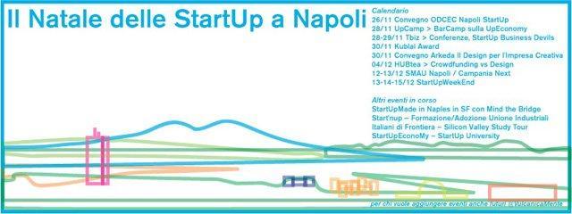"""A Napoli è già """"Il Natale delle StartUp"""""""