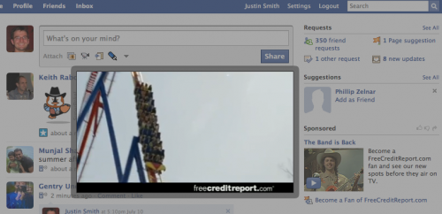 Video Advertising Facebook