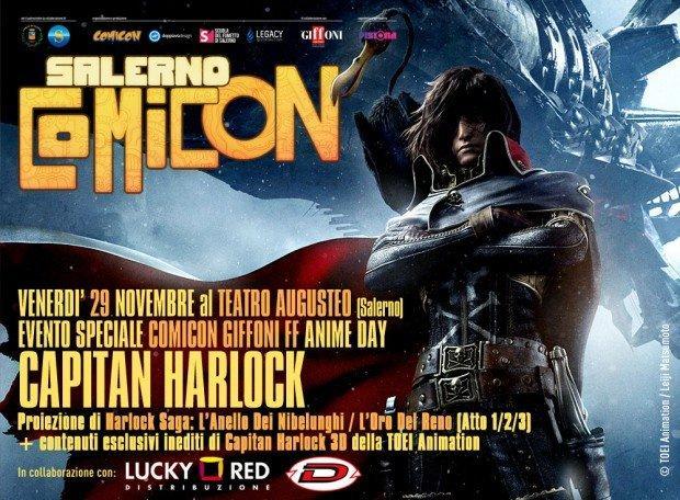 Salerno Comicon 2013 Harlock
