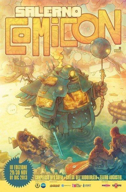 Salerno Comicon 2013: tra fumetti, videogiochi e cinema d'animazione  [EVENTO]