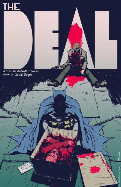 Top 10 fumetti e illustrazioni: i migliori creativi della settimana Preciado Bayliss Batman