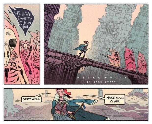 Top 10 fumetti e illustrazioni: i migliori creativi della settimana Jake Wyatt