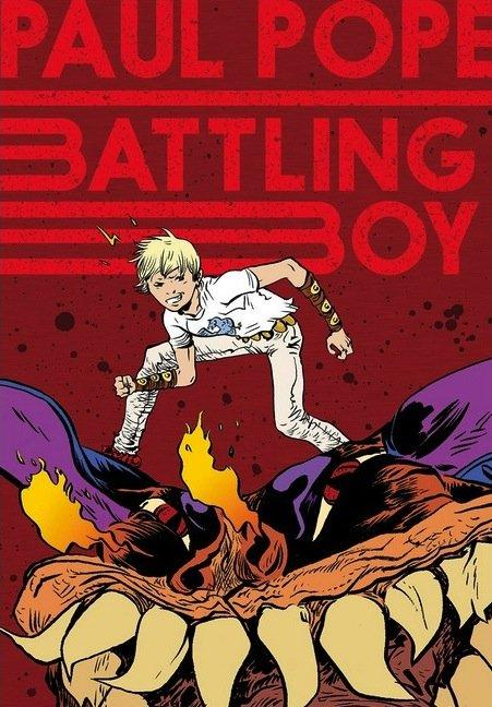 Top 10 fumetti e illustrazioni: i migliori creativi della settimana Paul Pope Battling boy