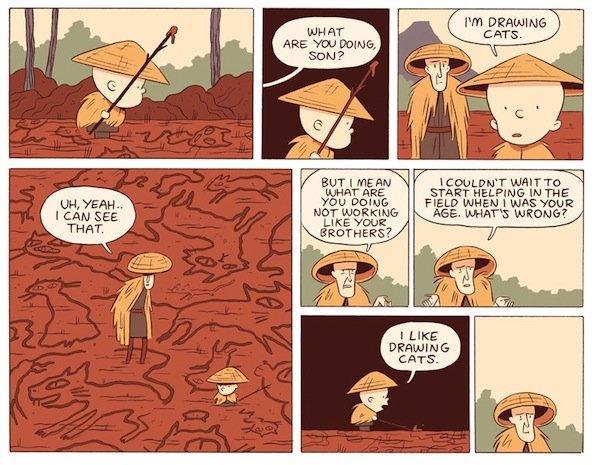 Top 10 fumetti e illustrazioni: i migliori creativi della settimana Luke Pearson