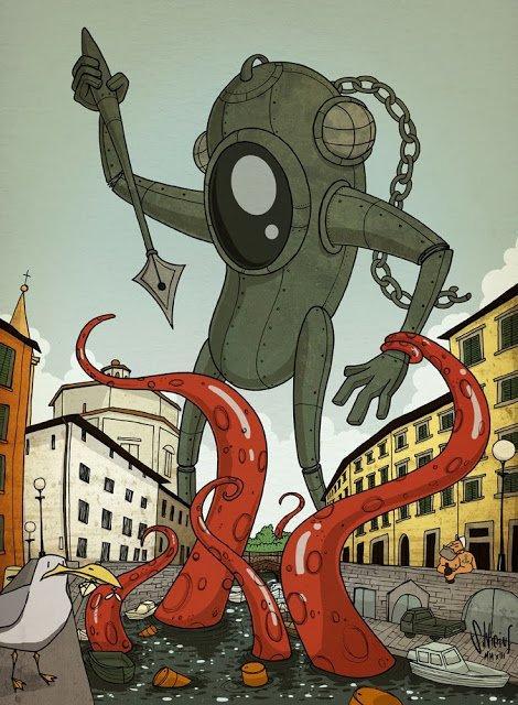Top 10 fumetti e illustrazioni: i migliori creativi della settimana Silvicius Combat Comics