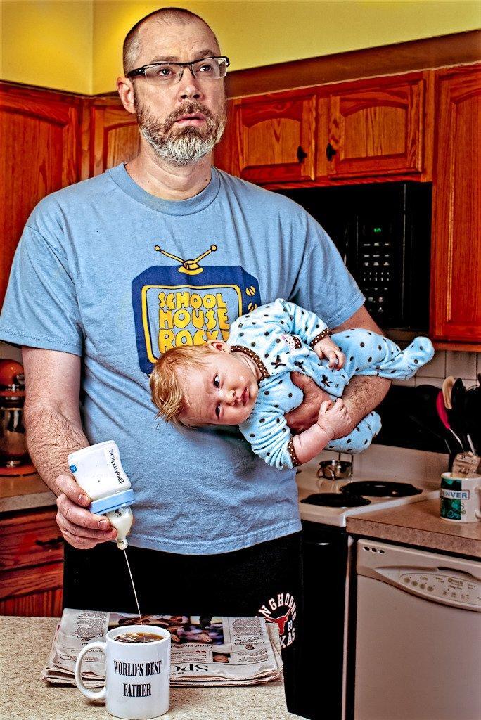 World's Best Father: gli scatti di un papà modello [INTERVISTA]