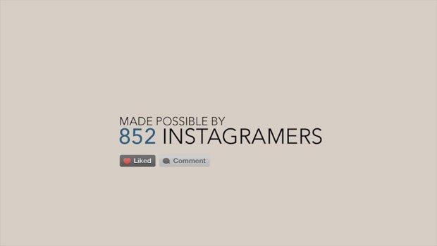 An Instagram short film: 852 foto fanno un corto [VIDEO]