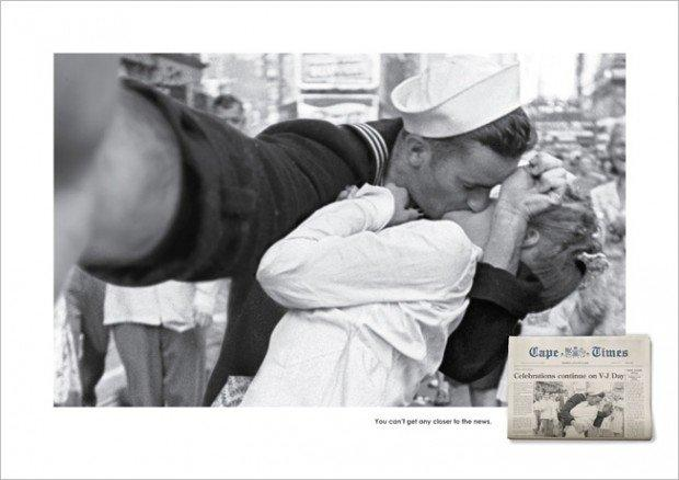 Fotografie storiche versione Selfies: la campagna del Cape Times