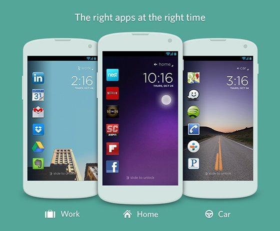 cover la lockscreen che mostra le app quando ne hai bisogno