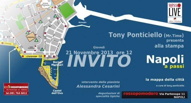 Napoli a Passi: scopriamo il nuovo progetto di Tony Ponticiello aka Mr. Time