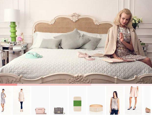 Kate Spade rivoluziona i banner col suo shoppable video [VIDEO]