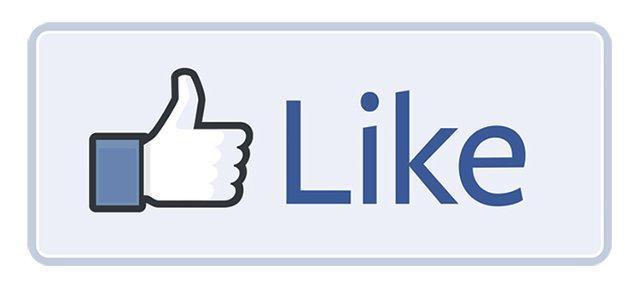 Icona col pollice in su di Facebook