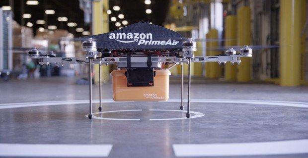 Amazon userà la consegna via drone entro i prossimi 4-5 anni
