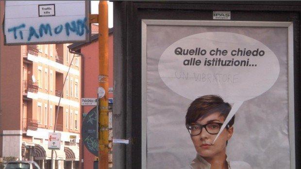 Contro la violenza sulle donne la geniale campagna Punto su di te di Pubblicità Progresso