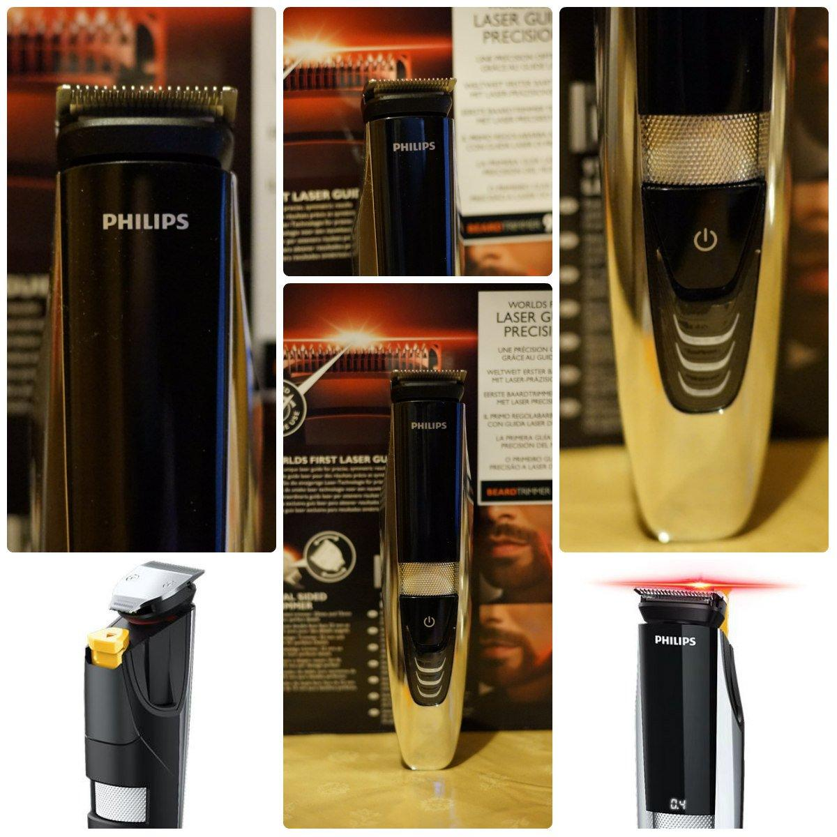 Philips Beardtrimmer Serie 9000: il primo rasoio con guida laser [GADGET OF THE WEEK]
