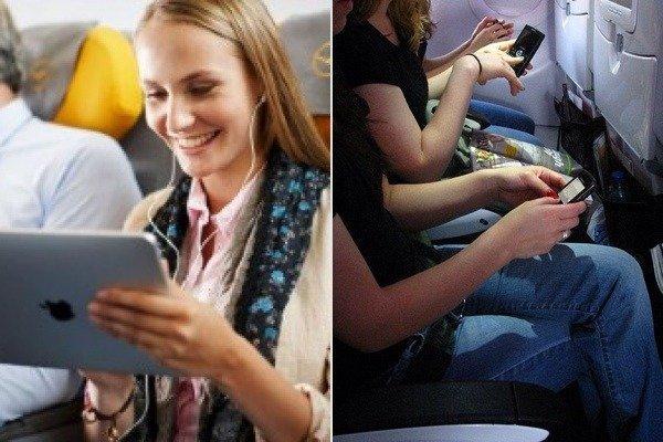 Aerei: sì ai dispositivi elettronici e all'accesso a Internet in volo