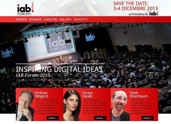 IAB Forum Milano 2013: la prima giornata