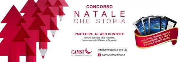 Condividi il tuo racconto di Natale con Camst: partecipa al web contest!