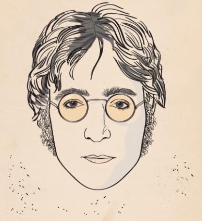 John Lennon e i suoi occhiali: un'icona della musica e dello stile [INFOGRAFICA]